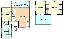 [一戸建] 福岡県北九州市小倉南区南方2丁目 の賃貸【/】の間取り