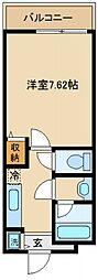 シャンティー大西[2階]の間取り