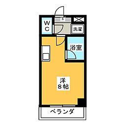 フェリス松栄[3階]の間取り
