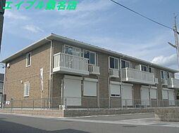 三重県いなべ市北勢町垣内の賃貸アパートの外観