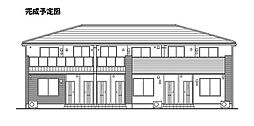 ラインハイトI[2階]の外観