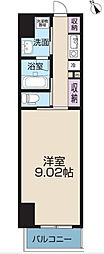 東京都北区王子本町2丁目の賃貸マンションの間取り