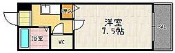 アミスタ堀川[303号室]の間取り