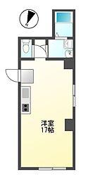 プチリヴェール昭和町[3階]の間取り