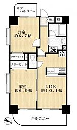 プラン・デスポワール[11階]の間取り
