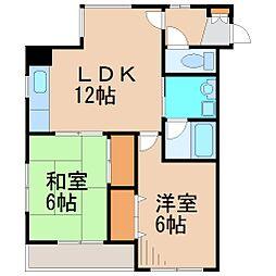マンション蔵[2階]の間取り