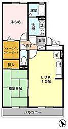 エクセル東合川2[3階]の間取り