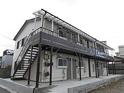 新潟県新潟市中央区下所島1丁目の賃貸アパートの外観