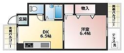 ラ・ルミエール藤井[3階]の間取り