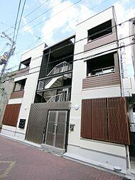 大阪府門真市本町の賃貸アパートの外観