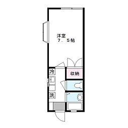 Kハウス[2階]の間取り
