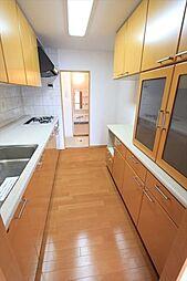 家事動線を考えた2WAY仕様キッチン・洗面室間の移動もラクラク(2018年4月23日撮影)