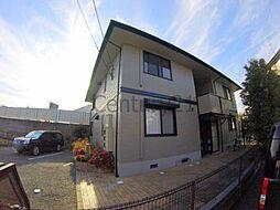 兵庫県川西市久代1丁目の賃貸アパートの外観