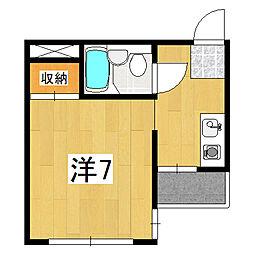 アンバーハウス四条[1階]の間取り