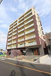 福岡県福津市日蒔野2丁目の賃貸マンションの外観