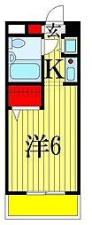 ジョイフル津田沼III[1階]の間取り