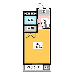 メイゾンフジミ[2階]の間取り