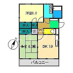 ウィンディングハウス[1階]の間取り