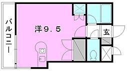 サンライズ豊坂[706 号室号室]の間取り