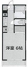 神奈川県横浜市神奈川区片倉2丁目の賃貸マンションの間取り