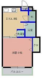 MYコーポ2[308号室]の間取り