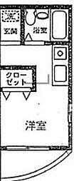 神奈川県相模原市中央区相生2丁目の賃貸マンションの間取り