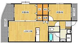 グレースメゾン[2階]の間取り