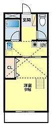 オフィス5[203号室]の間取り