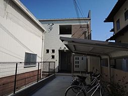 大阪府河内長野市木戸3丁目の賃貸アパートの外観