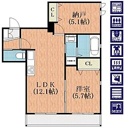 Re-Style[2階]の間取り