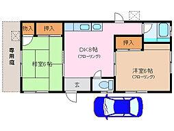[一戸建] 三重県伊勢市船江4丁目 の賃貸【/】の間取り