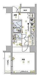 ヴェルト横浜ブライトコート[4階]の間取り