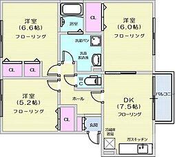 富沢駅 6.2万円