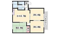 平松駅 4.5万円