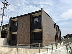 愛知県豊田市花園町稲荷下の賃貸アパートの外観