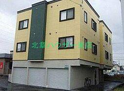 北海道札幌市東区伏古十四条4の賃貸アパートの外観