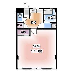 西春オカマンション[515号室]の間取り