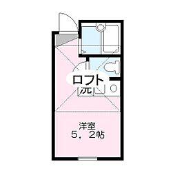 レジデンス笠間[2階]の間取り