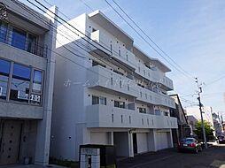 北海道札幌市中央区宮の森一条7丁目の賃貸マンションの外観