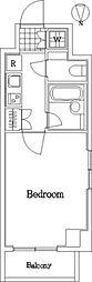 ルーブル白金高輪弐番館[3階]の間取り