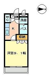 COM's SATO[202号室]の間取り