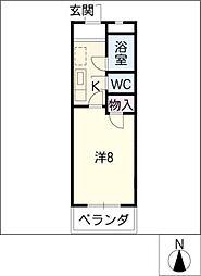 クールソレイユTOHRU[1階]の間取り