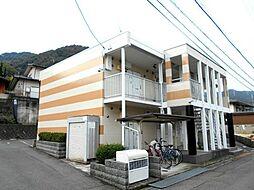 広島県三原市宗郷2丁目の賃貸アパートの外観