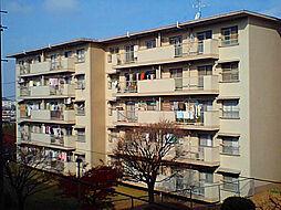 寺尾台団地17号棟[503号室]の外観
