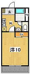 皆川タウンハウス パート1[1階]の間取り