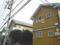 サマックス三園E棟[1階]の外観