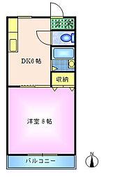 モンシャトー小金井[1階]の間取り