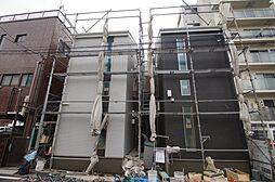 神奈川県横浜市鶴見区向井町3の賃貸アパートの外観