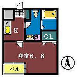 ROOM335[305号室]の間取り