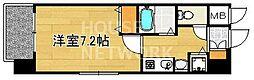 プレサンス京都三条大橋東山苑[106号室号室]の間取り